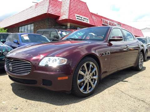 2006 Maserati Quattroporte for sale at KB Auto Mall LLC in Akron OH
