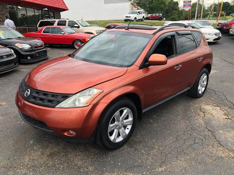 2003 Nissan Murano for sale at KB Auto Mall LLC in Akron OH