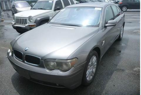 2002 BMW 7 Series for sale at KB Auto Mall LLC in Akron OH