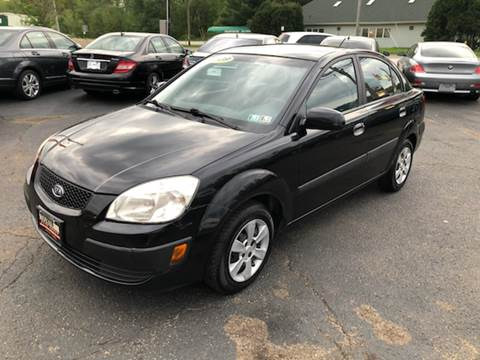 2007 Kia Rio for sale at KB Auto Mall LLC in Akron OH