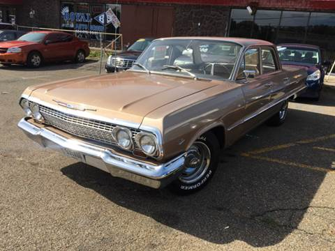 1963 Chevrolet Bel Air for sale at KB Auto Mall LLC in Akron OH