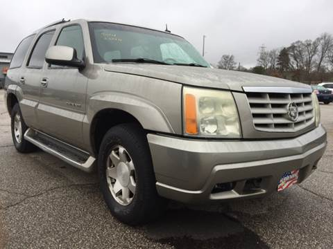 2002 Cadillac Escalade for sale in Akron, OH