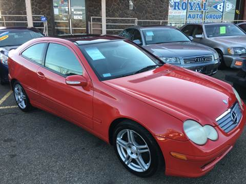 2002 Mercedes-Benz C-Class for sale at KB Auto Mall LLC in Akron OH