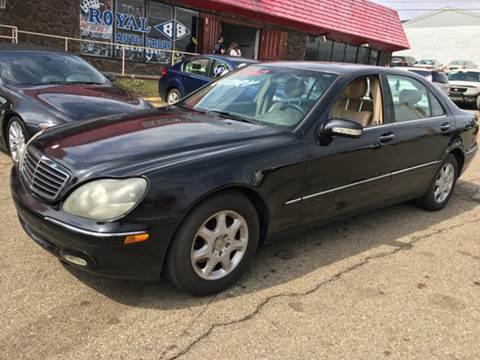 2000 Mercedes-Benz S-Class for sale at KB Auto Mall LLC in Akron OH