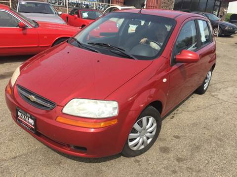 2007 Chevrolet Aveo for sale at KB Auto Mall LLC in Akron OH