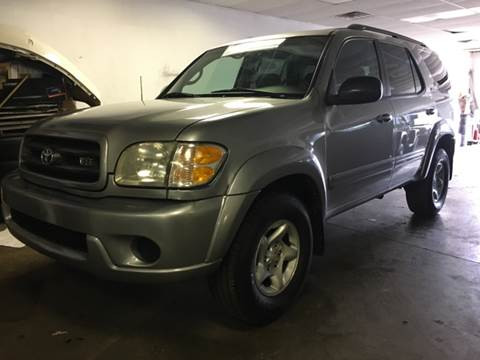 2001 Toyota Sequoia for sale at KB Auto Mall LLC in Akron OH