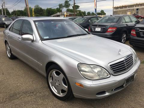 2001 Mercedes-Benz S-Class for sale at KB Auto Mall LLC in Akron OH