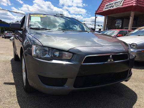 2009 Mitsubishi Lancer for sale at KB Auto Mall LLC in Akron OH