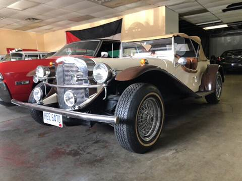 1929 Mercedes-Benz SSK for sale at KB Auto Mall LLC in Akron OH