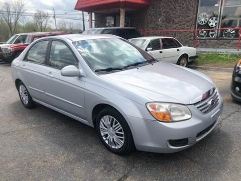 2007 Kia Spectra for sale at KB Auto Mall LLC in Akron OH