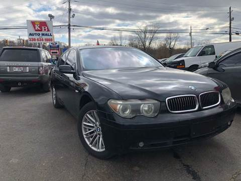 2003 BMW 7 Series for sale at KB Auto Mall LLC in Akron OH