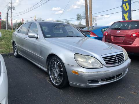2002 Mercedes-Benz S-Class for sale at KB Auto Mall LLC in Akron OH