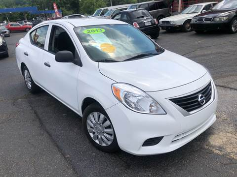 2012 Nissan Versa for sale at KB Auto Mall LLC in Akron OH