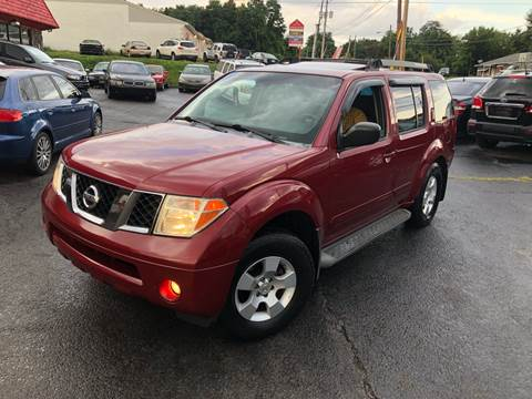 2005 Nissan Pathfinder for sale at KB Auto Mall LLC in Akron OH