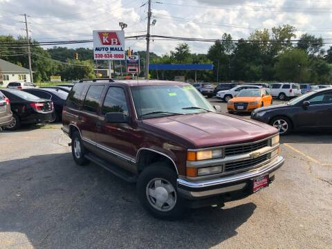 1998 Chevrolet Tahoe for sale at KB Auto Mall LLC in Akron OH