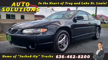 2002 Pontiac Grand Prix for sale in Troy, MO