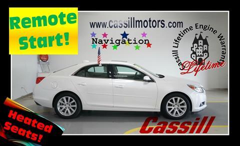 2015 Chevrolet Malibu for sale in Cedar Rapids IA