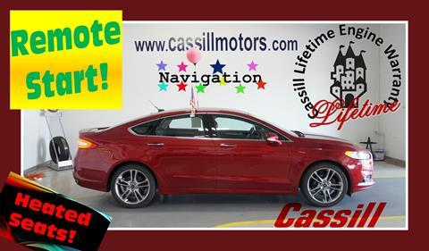 2014 Ford Fusion for sale in Cedar Rapids, IA
