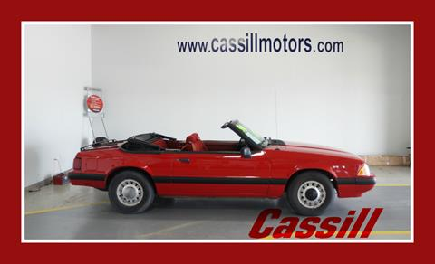 1990 ford mustang for sale for Cassill motors used cars
