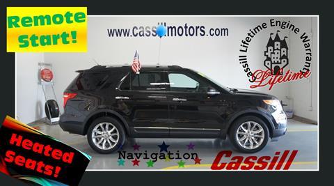 2014 Ford Explorer for sale in Cedar Rapids, IA