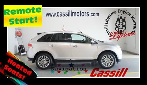 2014 Lincoln MKX for sale in Cedar Rapids, IA
