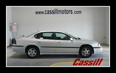 2001 Chevrolet Impala for sale in Cedar Rapids, IA