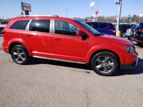 2015 Dodge Journey Crossroad for sale at Cassill Motors Inc in Cedar Rapids IA
