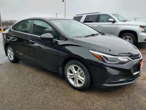2018 Chevrolet Cruze LT Auto for sale at Cassill Motors Inc in Cedar Rapids IA