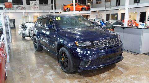 2018 Jeep Grand Cherokee Trackhawk for sale at Cassill Motors Inc in Cedar Rapids IA