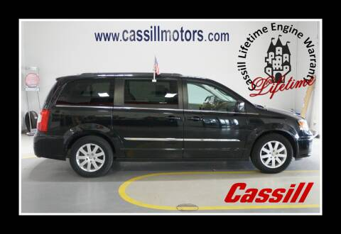 2014 Chrysler Town and Country Touring for sale at Cassill Motors Inc in Cedar Rapids IA