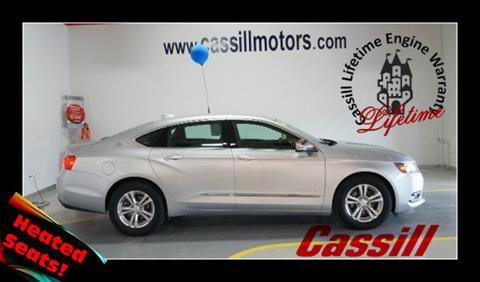 2016 Chevrolet Impala for sale in Cedar Rapids IA
