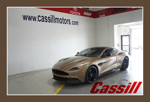 2014 Aston Martin Vanquish for sale in Cedar Rapids IA