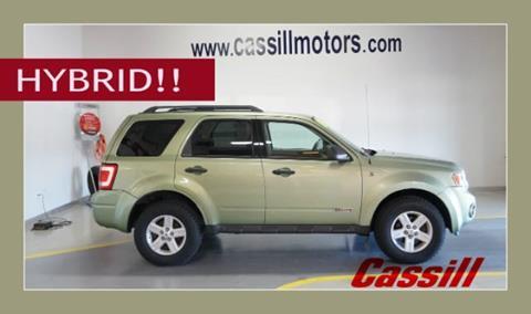 2008 Ford Escape Hybrid for sale in Cedar Rapids IA