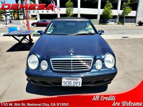 2003 Mercedes-Benz CLK for sale in National City, CA
