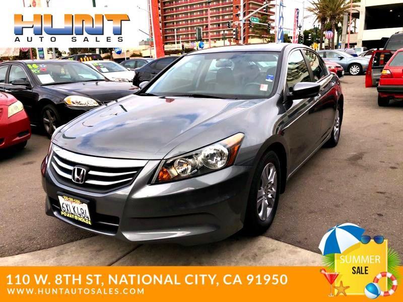 Honda National City >> 2012 Honda Accord Se 4dr Sedan In National City Ca Hunt Auto Sales