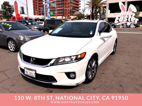 Honda National City >> Used Honda Accord For Sale In National City Ca Carsforsale Com