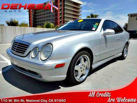 2001 Mercedes-Benz CLK for sale in National City, CA