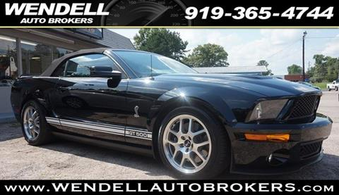 2008 Ford Shelby GT500 for sale in Wendell, NC
