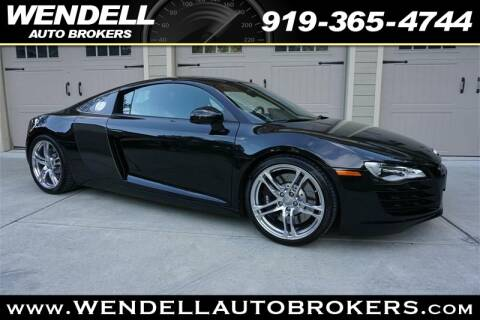 Wendell Auto Brokers >> 2011 Audi R8 For Sale In Wendell Nc