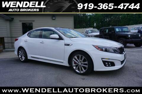 Wendell Auto Brokers >> 2015 Kia Optima For Sale In Wendell Nc