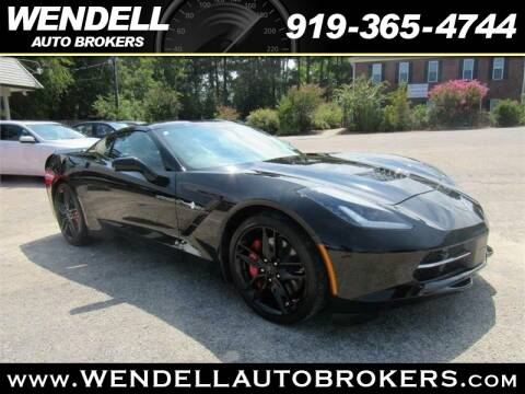 Wendell Auto Brokers >> 2016 Chevrolet Corvette For Sale In Wendell Nc