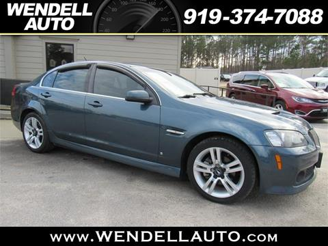 2009 Pontiac G8 for sale in Wendell, NC
