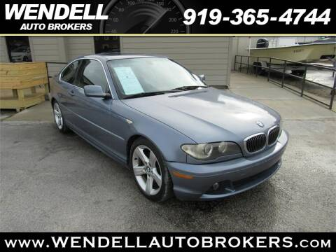 Wendell Auto Brokers >> 2004 Bmw 3 Series For Sale In Wendell Nc