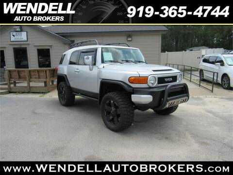 Wendell Auto Brokers >> 2007 Toyota Fj Cruiser For Sale In Wendell Nc