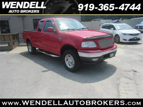 Wendell Auto Brokers >> 2001 Ford F 150 For Sale In Wendell Nc