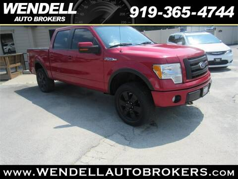 Wendell Auto Brokers >> 2010 Ford F 150 For Sale In Wendell Nc