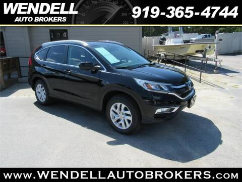 Wendell Auto Brokers >> 2016 Honda Cr V For Sale In Wendell Nc