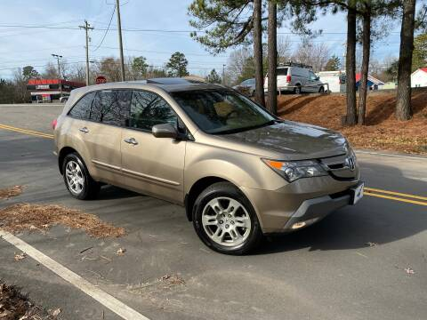 2008 Acura MDX for sale at THE AUTO FINDERS in Durham NC