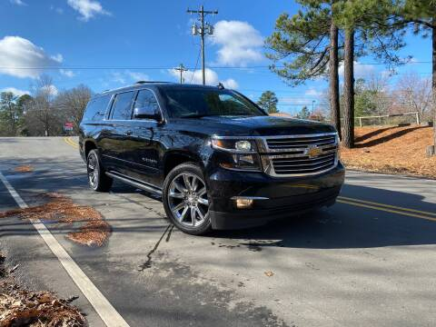 2017 Chevrolet Suburban for sale at THE AUTO FINDERS in Durham NC