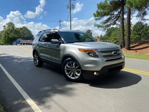 2013 Ford Explorer for sale at THE AUTO FINDERS in Durham NC